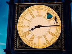Peter Pan's Clock Tower! @Kaylea Layman, let's go find it!
