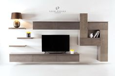 Bespoke TV unit – ❖ Bespoke Furniture London – Anime pictures to hairstyles Living Room Wall Units, Living Room Modern, Living Room Designs, Tv Unit Design, Tv Wall Design, House Design, Tv Furniture, Bespoke Furniture, Furniture Design