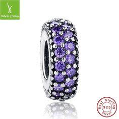Authentic 100% 925 Sterling Silver Inspiration Spacer Charm Bead Fit Original Pandora Bracelet Pendant Best Price Aliexpress