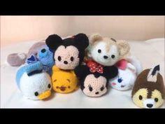 ポンポンメーカーで作る ディズニーの動物たち チップ&クラリス(Chip&Clarice) - YouTube