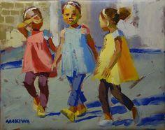 Artist Makiwa Mutombo
