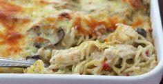 The Best Cheesy Chicken Spaghetti