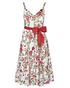 Joe Browns 50's style Garden Party Dress