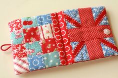 Really cute and easy tutorial for a needle book from NanaCompany's blog of 25th October 2011