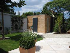 Individuelle Gartenhäuser aus heimischer Lärche und HPL Platten.    Jedes Haus ein Unikat auf Maß.
