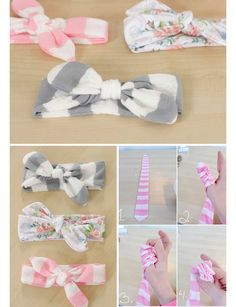 #DIY headbands for #baby girls