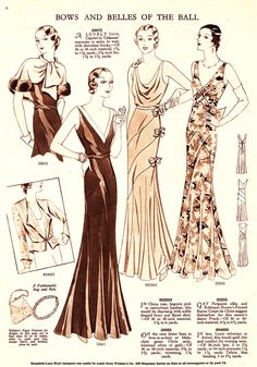 The 30s are a very underrated fashion era. The eveningwear was the best.