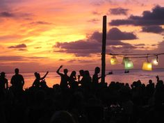 luxlifetrend.com - Watching the sunrise after a Full Moon Party in Koh Phangan, Thailand. #travel