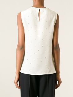 Calvin Klein Collection Polka Dot Tank Top - Apropos The Concept Store - Farfetch.com