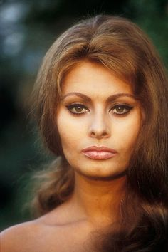 Sophia Loren photographed by Willy Rizzo, 1967.