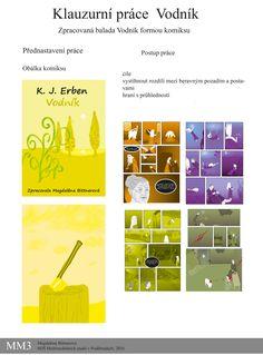Zpracovaná balada Vodník od K. J. Erbena na motivy filmu Limonádový Joe a obrazy…