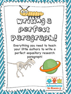 Writing a Perfect Paragraph! Expository Paragraph Writing for second and third grades.