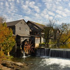 The Old Mill in Pigeon Forge has delicious dishes to try! The atmosphere and the location are great!