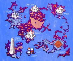 Final Fantasy IV map, Angelica Alzona