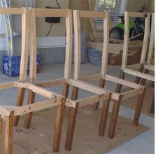 make your own dining chairs - Easy Homemade Furniture Plans