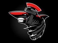 Praetorian Sharks by Dan Blessing, via Behance Logo Esport, Pin Logo, Team Logo, Brand Identity Design, Logo Design, Graphic Design, Sports Decals, Esports Logo, Brand Style Guide