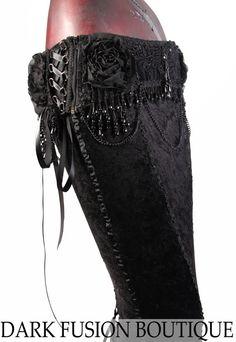 Belt, Black, Beads, Corset Belt, Dark Bridal, Cabaret, Gothic, Steampunk, Vampire, Noir, Gothic, Belly Dance, Tribal Fusion