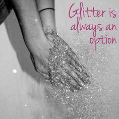 glitter glitter glitter I love you - black and white photography 652e21d21984
