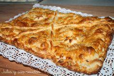 Empanadas, empanada de pollo, recetas de empanada, como hacer empanada de pollo, Julia y sus recetas