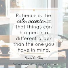 Calm acceptance... #inspiration #quote