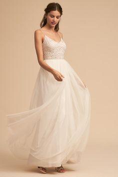 Ivory Violetta Dress   BHLDN