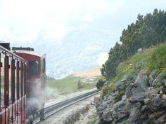 Schafberg train in Austria Austria, Notes, Spaces, Train