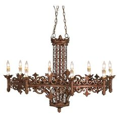 I pinned this Modessa Chandelier from the Eurofase event at Joss and Main!