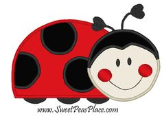 ladybug pictures | Reviews for Sweet Peas Place Designs - Oh So Sweet Lady Bug Red ...