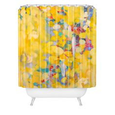 Stephanie Corfee Princess Buttercup Shower Curtain | DENY Designs Home Accessories