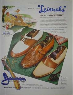 Jarman Shoes Leisuals Shoes for men (1946)