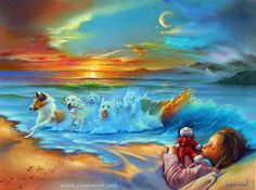 Jim Warren, Spirituality, Drawings, Dogs, Painting, Dreams, Joy, Art, Optical Illusions