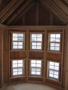 Bay Windows via Perfect Play Houses