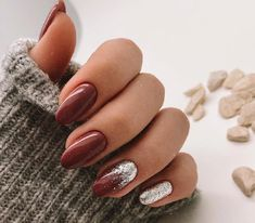 Dream Nails, Fall Nail Designs, Types Of Nails, Stylish Nails, Winter Nails, Nails Inspiration, Manicure, Nail Art, Make Up