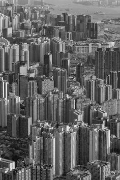 Kostenloses Stock Foto zu schwarz und weiß, stadt, vogelperspektive, skyline