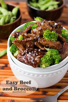 This was such an easy #recipe for beef and broccoli. Love it! ohsweetbasil.com