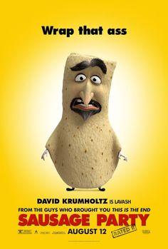 SAUSAGE PARTY movie poster No.6