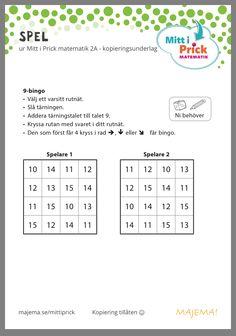 Learning Support, Preschool Printables, Math Games, Math Lessons, Mathematics, Language, Teacher, Education, Bingo