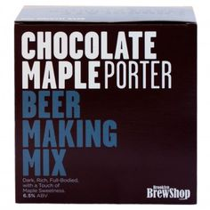 Make your own brew with the Beer Making Mix: Chestnut Brown Ale, available at the Food Network Store