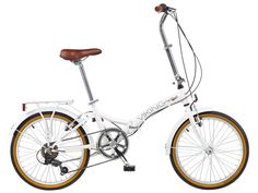 Viking Easy Street - Bicicleta plegable, color blanco, talla 14-Inch