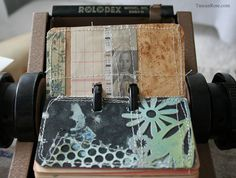 rolodex rocks with color and texture