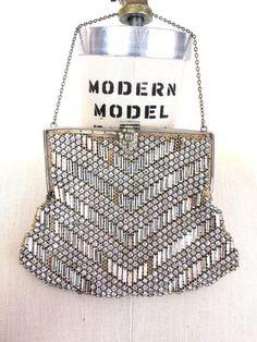1920s rhinestone purse on etsy.com