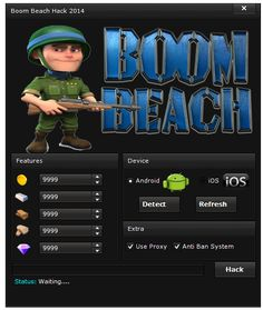 New Boom Beach hack is finally here and its working on both iOS and Android platforms. Boom Beach Game, Game Boom, Boom Boom, Beach Hacks, Play Hacks, Private Server, Game Resources, Android Hacks, Game Update