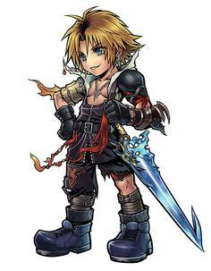 Tidus from Dissidia Final Fantasy Opera Omnia