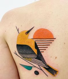 Baby Tattoos, Love Tattoos, Body Art Tattoos, New Tattoos, Tatoos, Simple Tattoo Designs, Simple Bird Tattoo, Abstrakt Tattoo, Bird Tattoo Sleeves