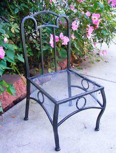Garden chair planter for flowers