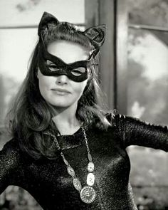 Julie Newmar - Catwoman. For more cool memes, cool stuff, and utter nonsense visit http://www.pinterest.com/SuburbanFandom/memes-and-such-nonsense/