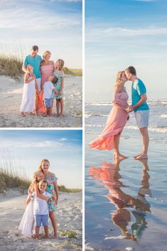 Family beach pictures in Florida. Family beach pictures outfits and family beach photo ideas. Family Beach Session, Family Beach Portraits, Family Beach Pictures, Beach Photos, Beach Picture Outfits, Family Picture Outfits, Beach Photography, Photography Tips, Casual Summer Outfits