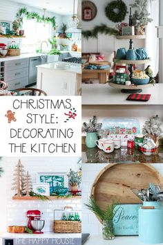 Want to make your home extra festive this holiday season? These simple tips for adding Christmas decor in the kitchen will make your kitchen cheery and bright just in time for the holidays. Christmas Living Rooms, Christmas Bedroom, Christmas Kitchen, Modern Christmas, Christmas Mugs, Christmas Home, White Christmas, Christmas Ideas, Christmas Greenery