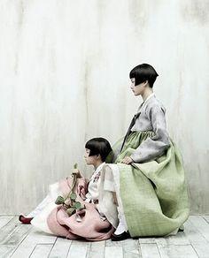 Kim Kyung Soo, shot for Korean Vogue.