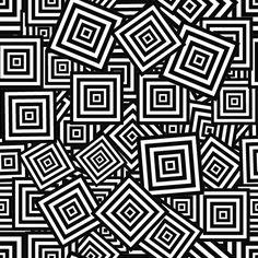 Vintage Square Pattern